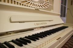 tastiera bechstein bianco mod 8 tastiera in avorio rid