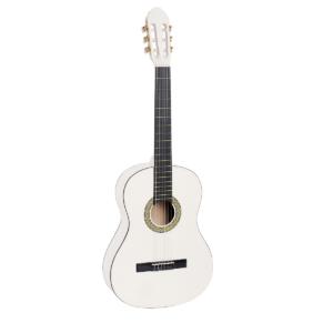 chitarra studio classica 4/4 bianca